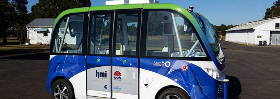 Armidale Regional Council wins first regional trial of new driverless bus technology