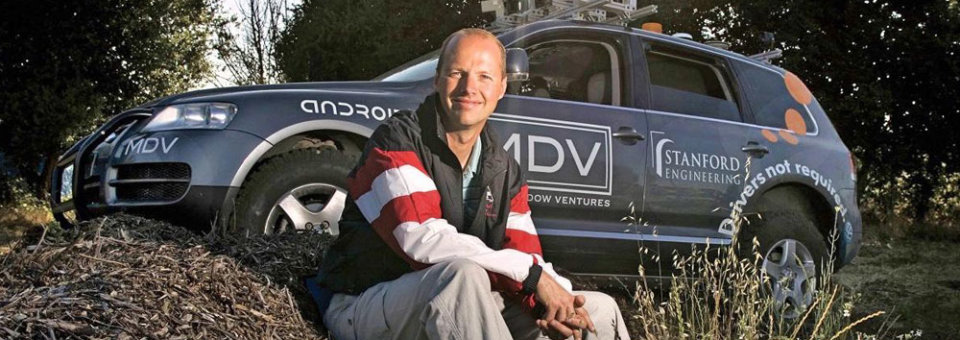 Self-driving pioneer foresees industry future with autonomous vehicles: Interview with Sebastian Thrun from Stanford University