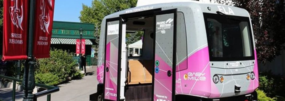 Coming soon: Buckle up for Edmonton's first driverless shuttles