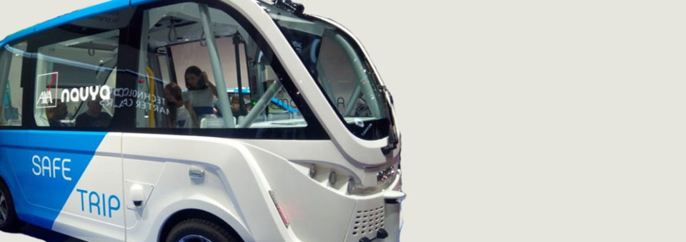 Navya autonomous shuttle: Self-driving a reality at Paris Motor Show 2018